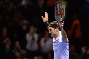 El tenista suizo no perdió ningún partido en la fase de grupos. Foto: AFP