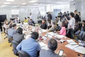 La Comisión también aprobó informe sobre proforma presupuestaria de 2018. Foto: Twitter Asamblea