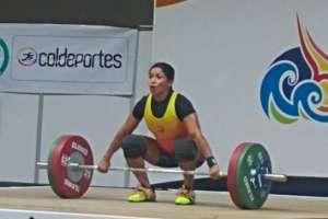 La deportista nacional ganó las preseas en la categoría 58 kilogramos. Foto: Tomada de la cuenta Twitter @Ecuadorolimpico