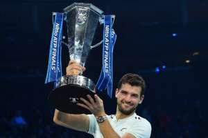 El ahora número 3 del mundo venció en la final a David Goffin. Foto: AFP