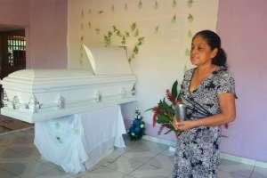 Abuela del niño hondureño en su casa en Honduras  Foto: once noticias