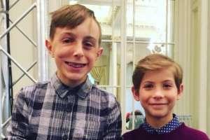 Marcus conoció a Jacob Tremblay, el actor que encarna a Auggie en la película Wonder.