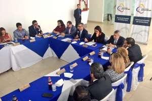 Según Jalkh, el Ecuador se ubica en los primeros lugares en celeridad procesal. Foto: @CJudicaturaEc