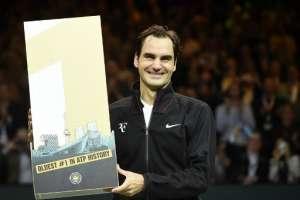 El tenista suizo se convirtió en el jugador más viejo en llegar al número uno del mundo. Foto: AFP