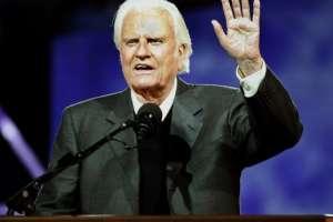 Familiares del predicador Billy Graham anunciaron su fallecimiento este 21 de febrero en Carolina del Norte. Foto: AFP