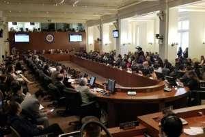 EE.UU.- El Consejo Permanente de la entidad llamó al país suramericano a presentar un nuevo calendario electoral. Foto: OEA