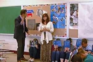 INDIANAPOLIS, Estados Unidos.- Los estudiantes de este establecimiento conocen cómo actuar ante un tiroteo. Foto: captura de NBC