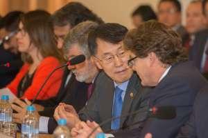 Cancillería explicó nuevo modelo de convenio bilateral de inversión del Gobierno. Foto: Cancillería de Ecuador