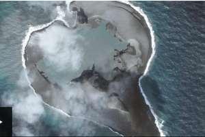 Escucha el sonido que hacen los truenos en el volcán Bogoslof de Alaska