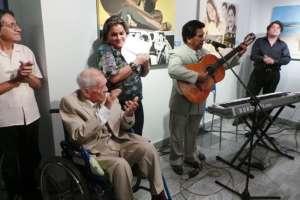 El guayaquileño está nominado a Salón de la Fama de los Compositores Latinos para el 2018. Foto: Prefectura Guayas.