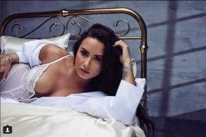 Demi Lovato mostró sus estrías y celulitis. Foto: Instagram