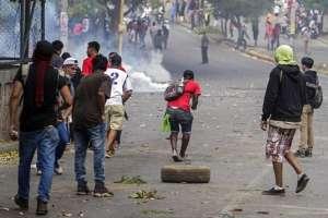 Miguel Ángel Gahona murió en la caribeña ciudad de Bluefields de un disparo. Foto: AFP