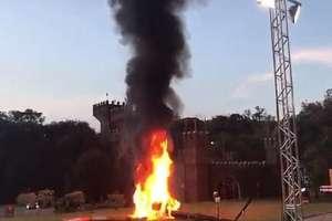Un helicóptero que llevaba a una novia al altar se estrelló en Brasil. Foto: captura de video
