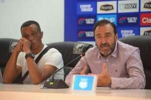 El presidente del club desmintió que Bolívar Vera se quedará hasta después de Copa América. Foto: Archivo/API