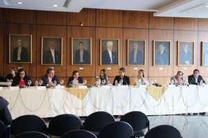 La mesa legislativa calificó a trámite el juicio político contra Gustavo Jalkh. Foto: Twitter Comisión de Fiscalización