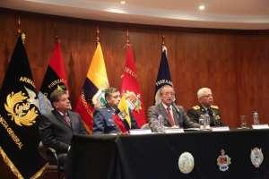 La Fuerza de Tarea Conjunta ejectuará acciones de seguridad en la frontera norte. Foto: DefensaEc