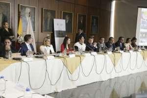La interpelación a Gustavo Jalkh fue propuesta por los legisladores Bernal y Tello. Foto: Asamblea