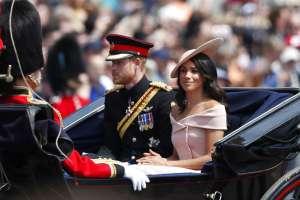 El príncipe Harry de Inglaterra (izquierda) y Meghan Markle, duques de Sussex. Foto: AP.
