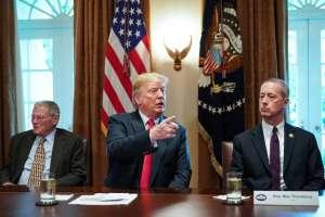 Trump anuncia decreto para poner fin a la separación de familias migrantes. Foto: AFP