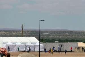 Los niños son llevados a centros de menores como este mientras que muchos de los padres van a la cárcel.