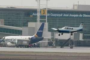 El sábado se suspenden operaciones en el aeropuerto de Guayaquil. Foto: Archivo