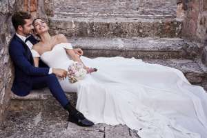 David Bisbal se casa secretamente con la venezolana Rosana Zanetti. Foto: Instagram