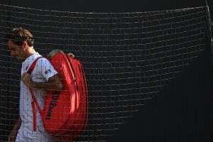 El tenista suizo no quedaba fuera antes de semifinales desde 2013. Foto: Oli SCARFF / AFP