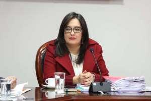 """Me allano a la resolución"" del Cpccs-t "", dijo Ana Marcela Paredes en Twitter. Foto: @MarcelaParedesE"