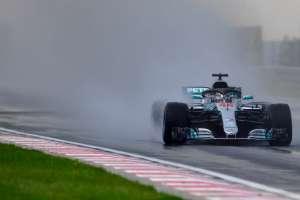 El piloto británico arrancará primero en el Gran Premio de Hungría. Foto: ANDREJ ISAKOVIC / AFP