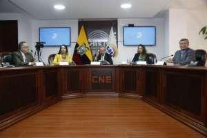 QUITO, Ecuador.- Autoridades encargadas revisarán además proceso electoral del CPCCS definitivo. Foto: API