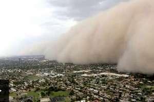 La gigantesca tormenta de arena que cubrió Phoenix, EEUU.