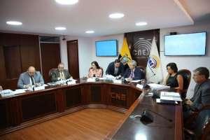 QUITO, Ecuador.- El organismo electoral pedirá a la Corte Constitucional una salida al proceso de elección. Foto: Twitter