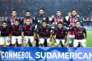 En elenco de San Lorenzo se enfrentó al Deportes Temuco de Chile el pasado 26 de julio. Foto: AFP