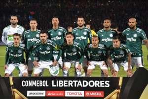 ASUNCIÓN, Paraguay.- El elenco de Palmeiras le ganó a Cerro Porteño 2-0. Foto: AFP