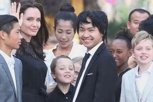 Pitt y Jolie tienen 6 hijos. Foto: Archivo