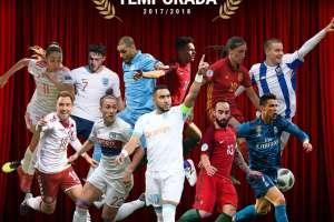 La UEFA lanzó la lista de los 11 jugadores nominados para el premio al gol de la temporada.