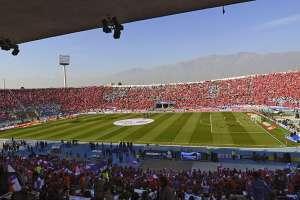 El estadio Nacional de Santiago es el escenario deportivo elegido por la Conmebol. Foto: AFP /Archivo