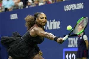 NUEVA YORK, EE.UU.- Serena Williams confesó que es el mejor partido que ha jugado tras ser madre en el 2017. Foto: AFP