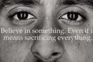La imagen de Kaepernick en la campaña de Nike, ha generado división de opiniones en Norteamérica.