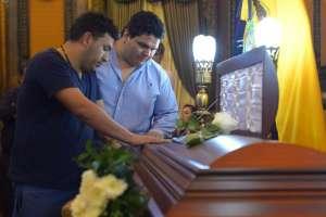 Carlos Rubira Infante falleció el viernes en Guayaquil a los 96 años de edad. Foto: API