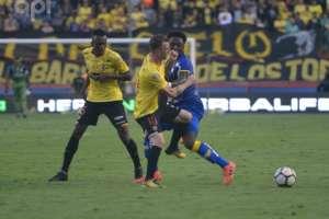 GUAYAQUIL, Ecuador.- Barcelona no logró vencer a Delfín en su reducto. Foto: API