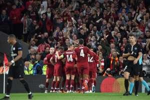 Los 'Reds' superaron 3-2 a los parisinos en el estadio Anfield. Foto: Paul ELLIS / AFP