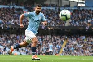 MÁNCHESTER, Reino Unido.- Agüero recientemente marcó su gol número 200 con el City. Foto: AFP