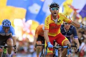 INNSBRUCK, Austria.- El español de 38 años, obtuvo este título luego de haber recorrido 258,5 kilómetros. Foto: AFP