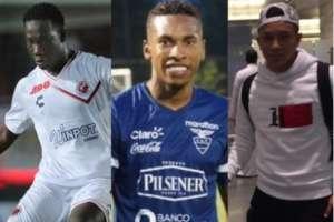 El 'Kunty' Caicedo, Ayrton Preciado y Christian Ramírez se sumaron a la selección ecuatoriana.