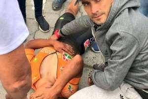 El pedalista ecuatoriano en agosto se coronó campeón del giro a Colombia. Foto: Pública FM