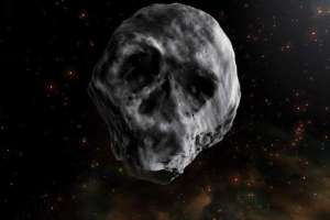 El cuerpo no pasará cerce da La Tierra hasta 2085. Ilustración: NASA