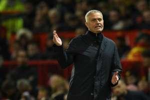 MÁNCHESTER, Reino Unido.- Mourinho durante el partido contra el Newcastle el 6 de octubre del 2018. Foto: AFP