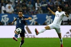 SAITAMA, Japón.- Edinson Cavani (derecha) anotó el segundo gol de Uruguay. Foto: AFP