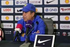 El entrenador de la selección ecuatoriana destacó la superioridad del equipo nacional. Foto: Tomada de @FEFecuador